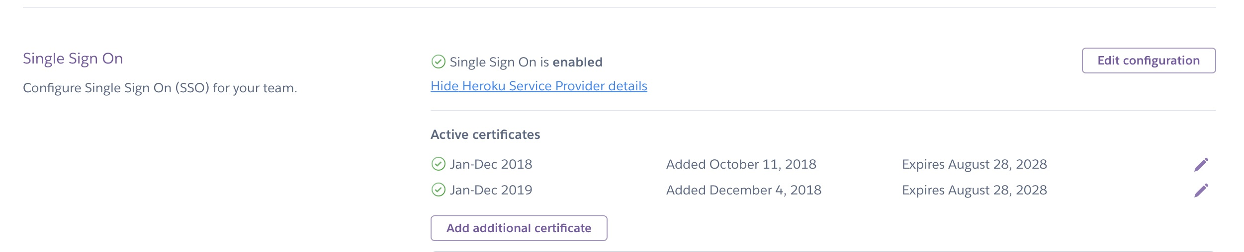 Using Single Sign-On (SSO) Services with Heroku, for