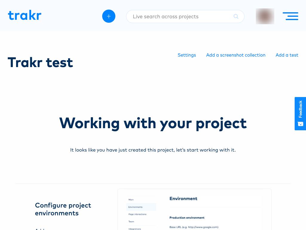 Trakr project link